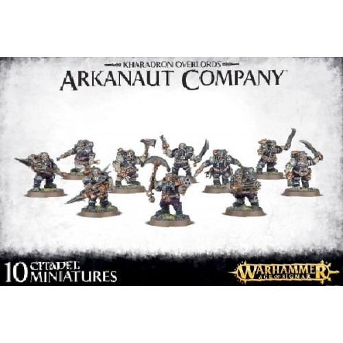 KHARADRONS OVERLORD ARKANAUT COMPANY - GAMES WORKSHOP 84-35