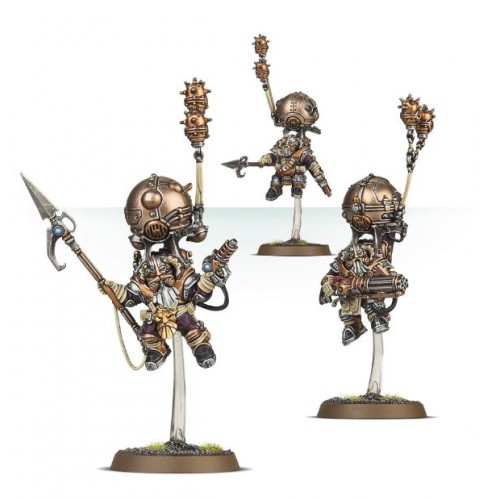 KHARADRONS OVERLORD SKYRIGGERS - GAMES WORKSHOP 84-36