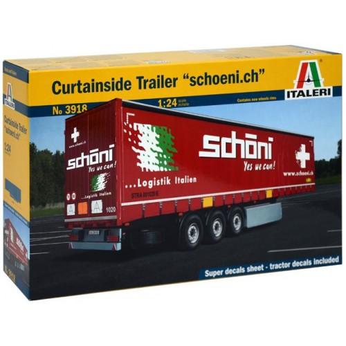 TRAILER CURTAINSIDE -Schoeni.ch- Italeri 3918