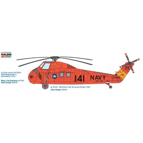 SIKORSKY H-34 G.III / UH-34 J CHOCTAW - Italeri 2712