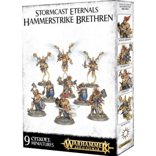 STORMCAST ETERNALS HAMMERSTRIKE BRETHEN- GAMES WORKSHOP 100-11