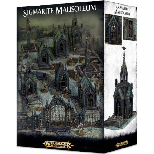 ESCENOGRAFIA SIGMARITE MAUSOLEUM - GAMES WORKSHOP 64-49
