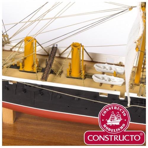 BUQUE ACORZADADO H.M.S. WARRIOR - Constructo 80845