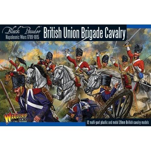 CABALLERIA BRITANICA UNION BRIGADE (12 Figuras) 1/56- Warlord Games 302011002