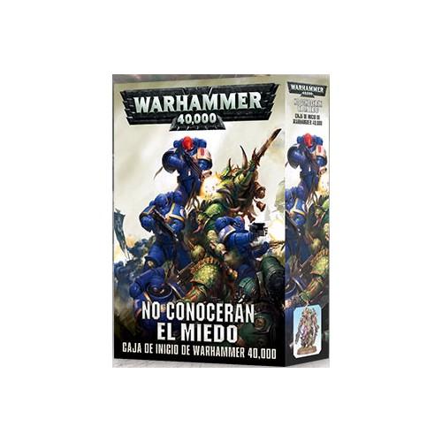 NO CONOCERAN EL MIEDO CAJA WARHAMMER 40000