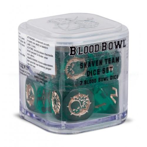 BLOOD BOWL: SKAVEN TEAM SET 7 DADOS