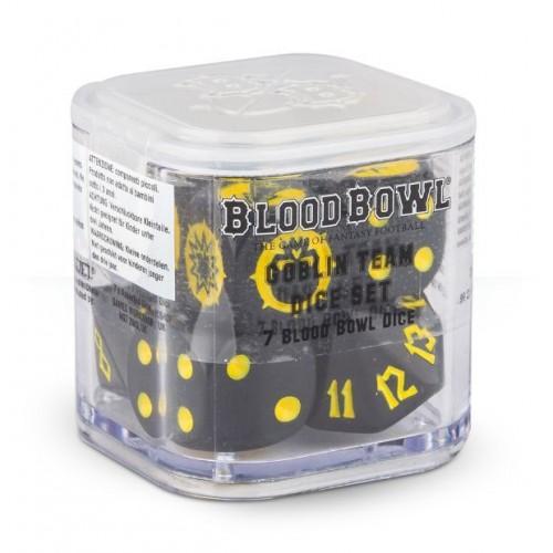 BLOOD BOWL: GOBLIN TEAM SET 7 DADOS
