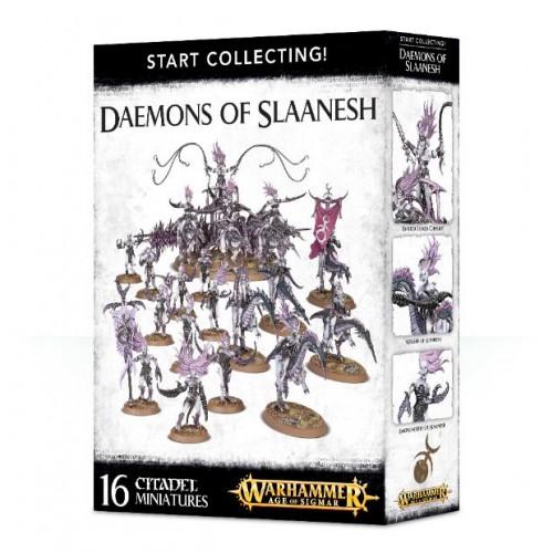 START COLLECTING DAEMONS OF SLAANESH - GAMES WORKSHOP 70-73