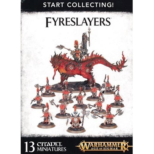 START COLLECTING FIRESLAYERS - GAMES WORKSHOP 70-85