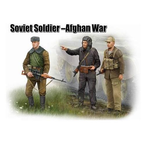 TROPAS SOVIETICAS AFGANISTAN - Trumpeter 00433