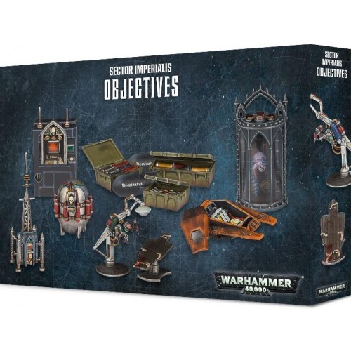 Warhammer 40000 Sector Imperialis Objetives - Games Workshop 4043