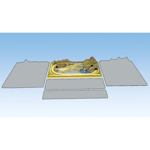 TOPORAMA: CORTINA (1000 x 690 x 210 mm) Escala Z