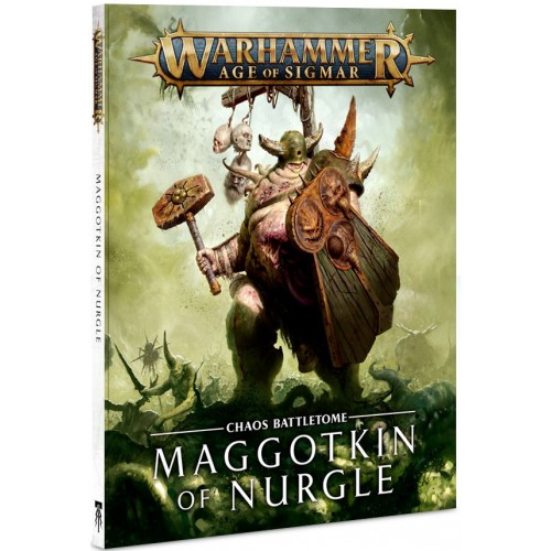 CHAOS BATTLETOME MAGGOTKIN OF NURGLE - GAMES WORKSHHOP 83-58