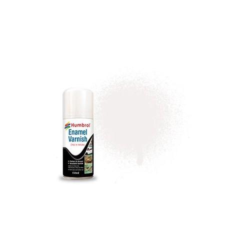 SPRAY BARNIZ BRILLANTE ESMALTE (150 ml) - Humbrol AD6997