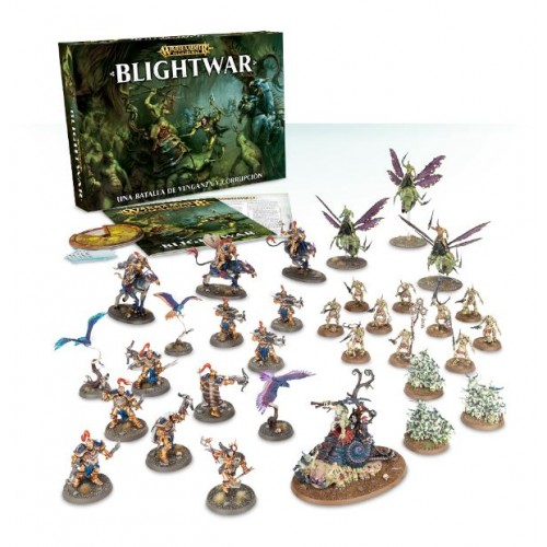 AGE OF SIGMAR BLIGHTWAR ESPAÑOL- GAMES WORKSHOP 80-23-03