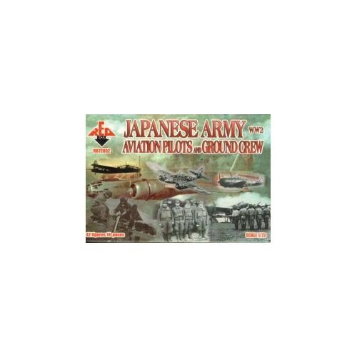 PILOTOS Y PERSONAL DE TIERRA EJERCITO JAPONES - Red Box RB72052