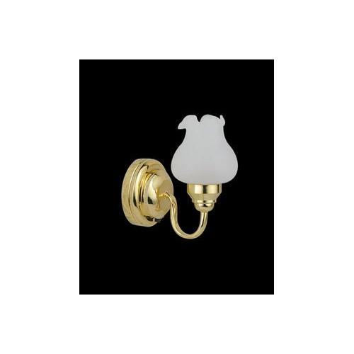 APLIQUE PARED TULIPA SIN CABLE (PRECISA PILA CR1632 DE 3V NO INCLUIDA)