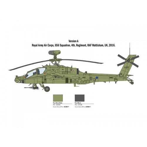 HUGHES AH-64D LONGBOW APACHE - ITALERI 2748