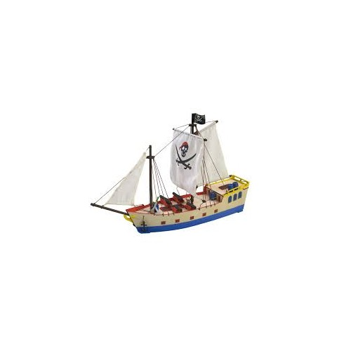 JUNIOR COLLECTION : PIRATE SHIP MAQUETA MADERA CON PINTURAS - ARTESANIA LATINA 30509