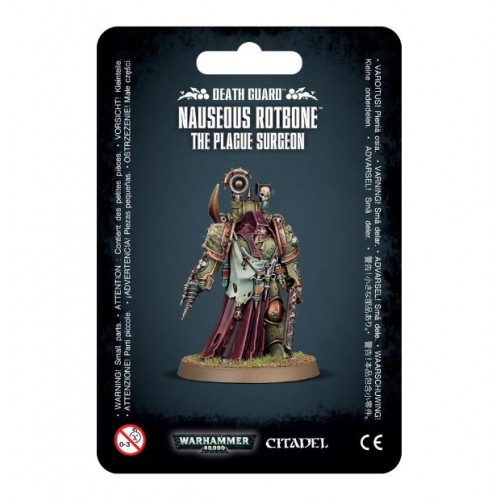 DEATH GUARD NAUSEOUS ROTBONE, The Plague Surgeon - Games Worshop 4329