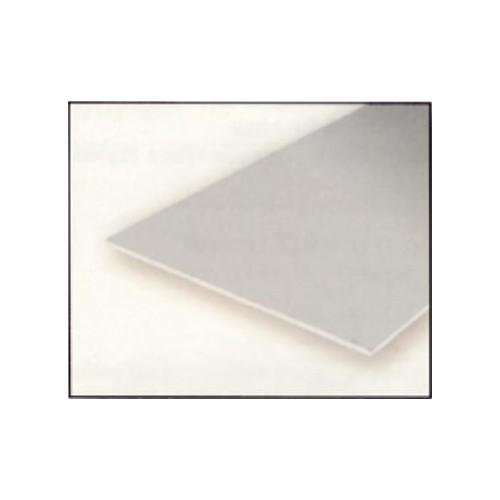 HOJA PLASTICO BLANCO LISA 0,50 mm (275 x 350 mm) - EVERGREEN 9220
