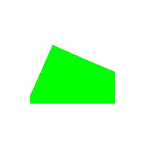 HOJA PLASTICO VERDE TRANSPARENTE 0,25 mm (300 x 150 mm) 2 unidades
