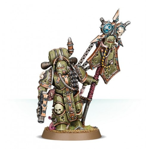 DEATH GUARD PLAGUE ICONBEARER - GAMES WORKSHOP 43-24