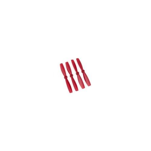 SET 4 HELICES BIPALAS 5 x 4,5 (normal + invertida) ROJA - Gemfan 3988