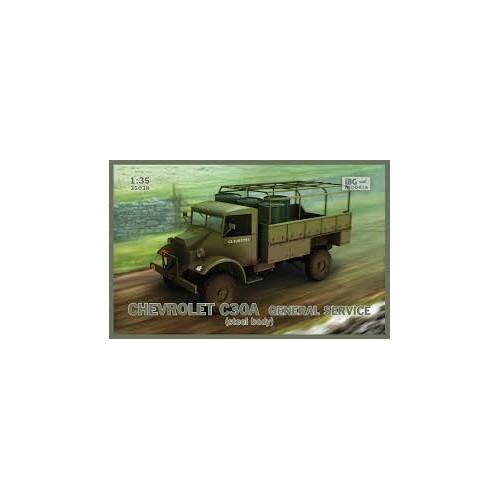 CAMION CHEVROLET C30A (Carroceria Acero) - IBG MODELS 35038