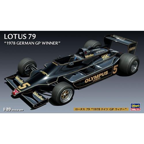 LOTUS 79 (1978 German GP Winner) 1/20 - Hasegawa FG-3