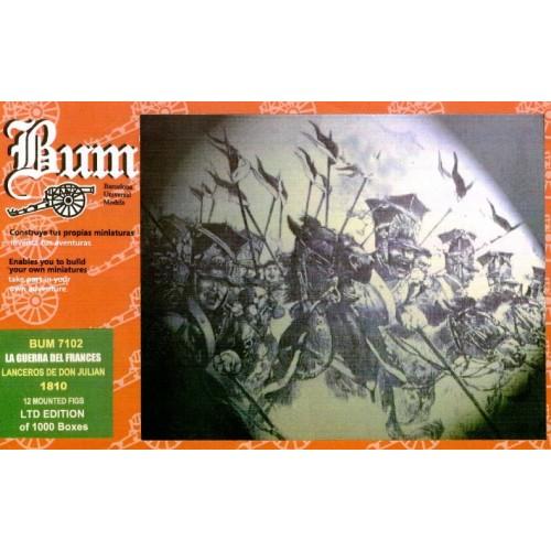 LANCEROS DE SAN JULIAN - BUM 7102