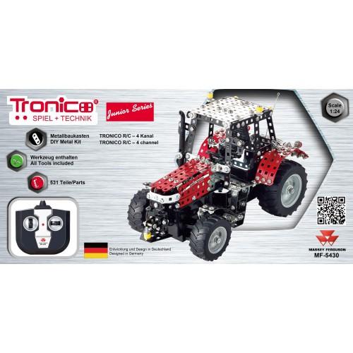 TRACTOR PIEZAS METAL CON RADIOCONTROL - TRONICO 10084