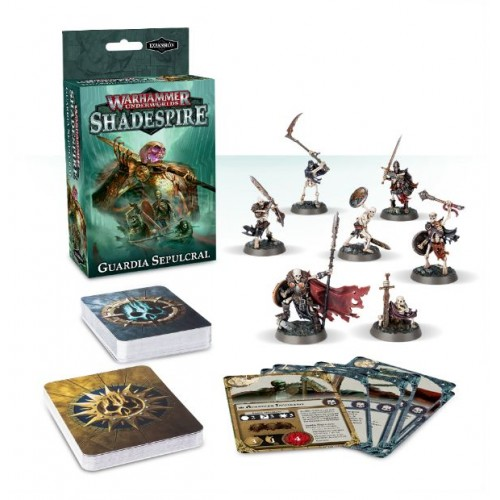 SHADESPIRE GUARDIA SEPULCRAL - GAMES WORKSHOP 110-04-03