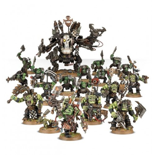 START COLLECTING ORKS - GAMESWORKSHOP  70-50