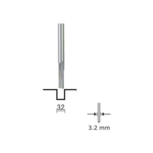 FRESA PARA RANURAS (3,2 mm) - Proxxon 29024