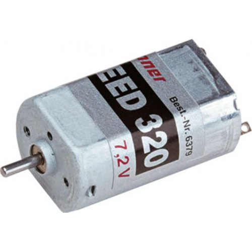 MOTOR ELECTRICO SPEED 320 (7,2 V) GRAUPNER 6379
