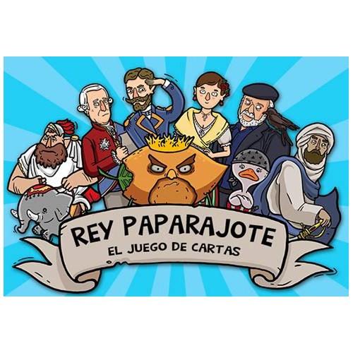 Juego de Cartas: REY PAPARAJOTE - ROCKET LEMON 1377