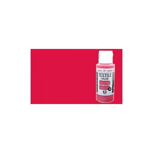 Textile Color: BERMELLON (60 ml)