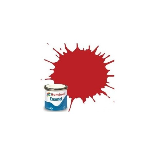 PINTURA ESMALTE HULL RED MATE (14 ml)