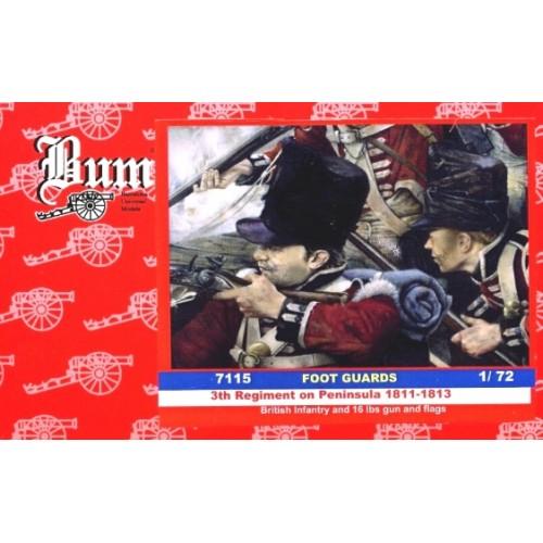 GUARDIA A PIE BRITANICA & CAÑON - BUM 7115