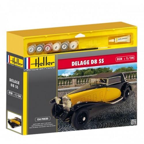DELAGE D8 SS (Pegamento & Pinturas) - HELLER 50720