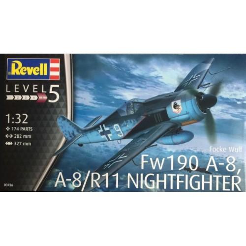 FOCKE WULF Fw-190 A-8 / R-11 -1/32- Revell 03926
