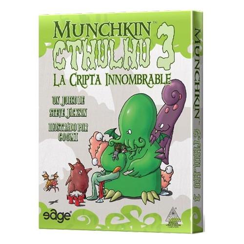 MUNCHKIN CTHULHU 3 LA CRIPTA INNOMBRABLE
