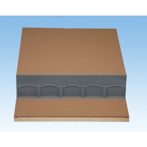 TOPORAMA: MODULO CENTRAL HEIDELBERG (600 x 800 x 140 mm) Escala H0