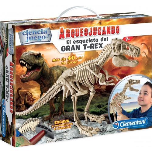 ARQUEOJUGANDO ESQUELETO GRAN T-REX - CLEMENTONI 55109