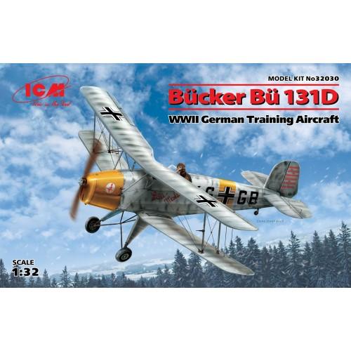 BUCKER Bu-131D 1/32 - ICM 32030