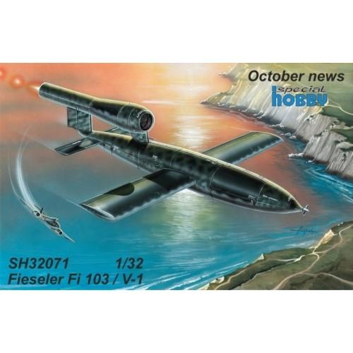 BOMBA VOLANTE FIESELER Fi-103 (FZG-76) / V-1 1/32 - Specia Hobby 32071