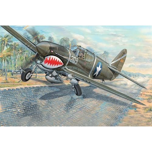 CURTISS P-40 F WARHAWK 1/32 - Trumpeter 03227