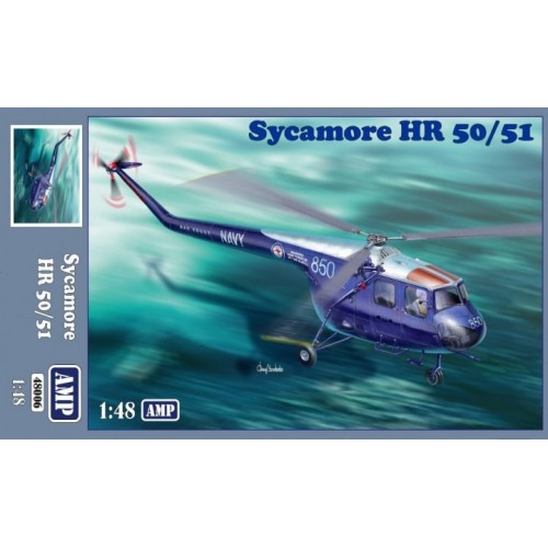 BRISTOL Type 171 SYCAMORE HR.50/.51 1/48 AMP 48006