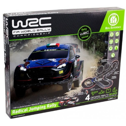 CIRCUITO RADICAL JUMPING RALLY WRC - Fabrica de Juguetes 91003